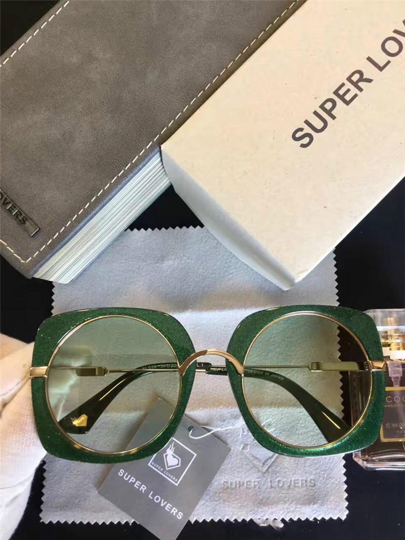 Super Lovers SL 039 Wysokiej Jakości Marka Designer Okulary przeciwsłoneczne Moda Kobiety Marka Designer Okulary Retro Styl UV Ochrona z oryginalnym pudełkiem