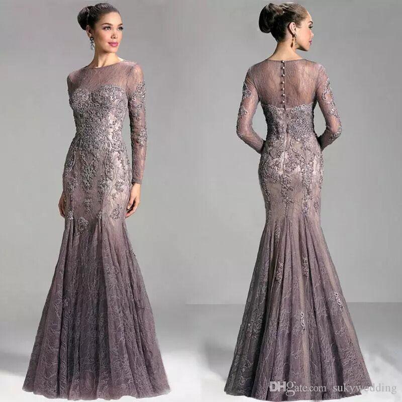 Janique 공주 레이스 댄스 파티 드레스 아랍어 두바이 카프 탄 정장 파티 드레스 저녁 아플리케 긴팔 티셔츠 이브닝 가운 Vestidos을 착용