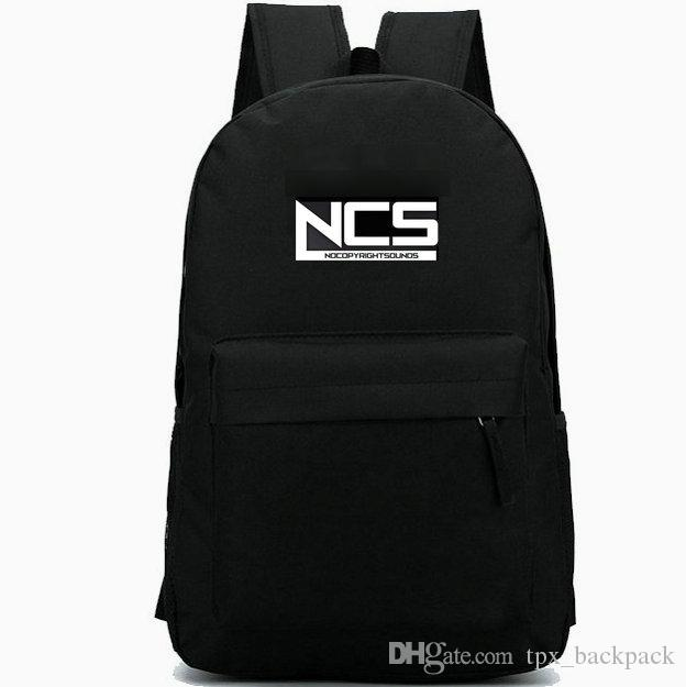 Nocopyrightsounds backpack لا توجد حقوق التأليف والنشر اليوم حزمة أعلى حقيبة مدرسية دي جي packsack بارد الترفيه الظهر الرياضة المدرسية في الهواء الطلق daypack