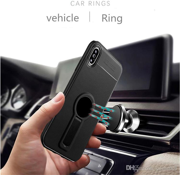 iFace tpu Little tail Shape Holder Magnetic Phone Case For IPhone x/xs xr max 6s 7 8 plus Samsung S9 S8 plus note Small tail Kickstand Cases