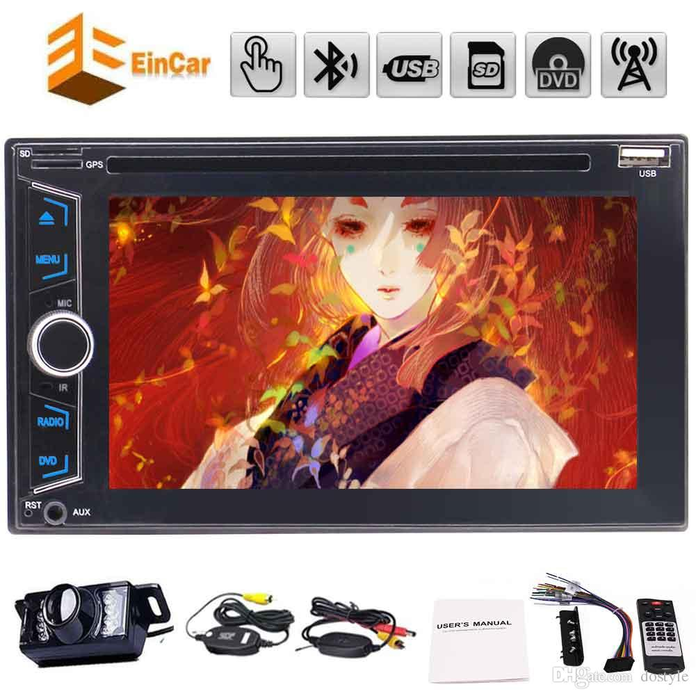 Eincar 2din car dvd player in dash car multimedia player headunit automagnitola 2 din pc system unit car tackles for auto radio stereo
