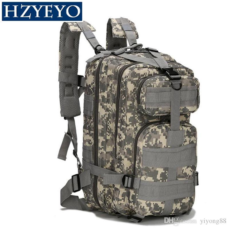 Bolsa HZYEYO táctico Mochila Mochila Militar Oxford Sport 30L para camping climbing bolsos que viajan senderismo Bolsas de pesca, B-02
