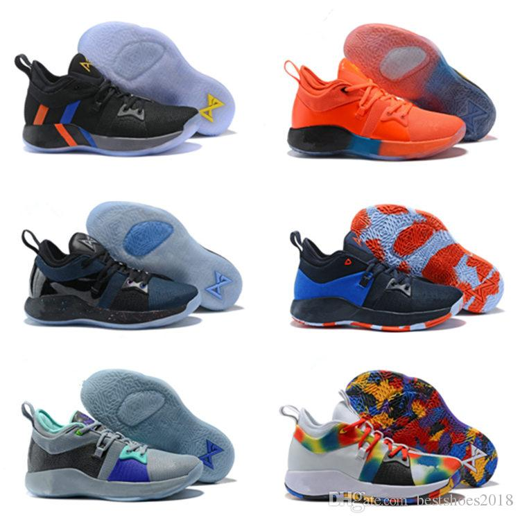 info for f4d52 64454 2018 High Quality PG2 PS4 Black BLue PG 2s Athletic Shoes Paul George 2  Basketball Shoes Us7 12 Best Youth Running Shoes Kids Running Gear From ...