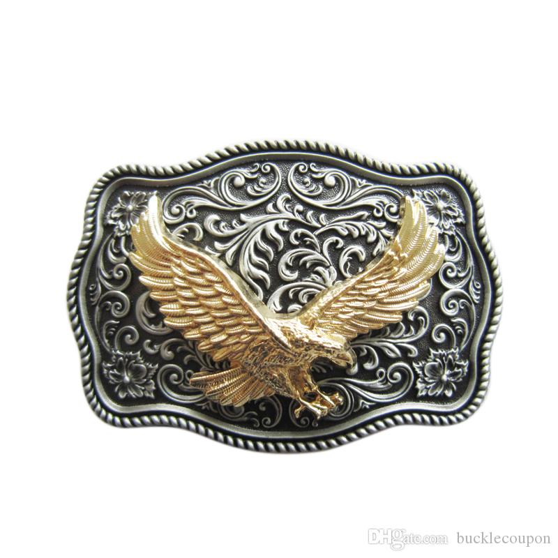 Fibbia Western Western di piccola taglia Vintage originale Fly Eagle Boucle de ceinture
