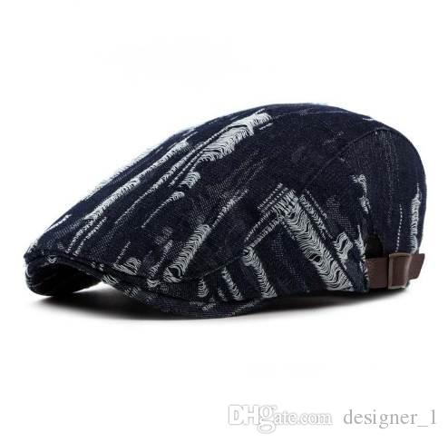 d949e76c6 2019 Fibonacci Spring Summer Beret Women Denim Cotton Holes Do The Old  Newsboy Hat For Men From Designer_1, $14.08   DHgate.Com
