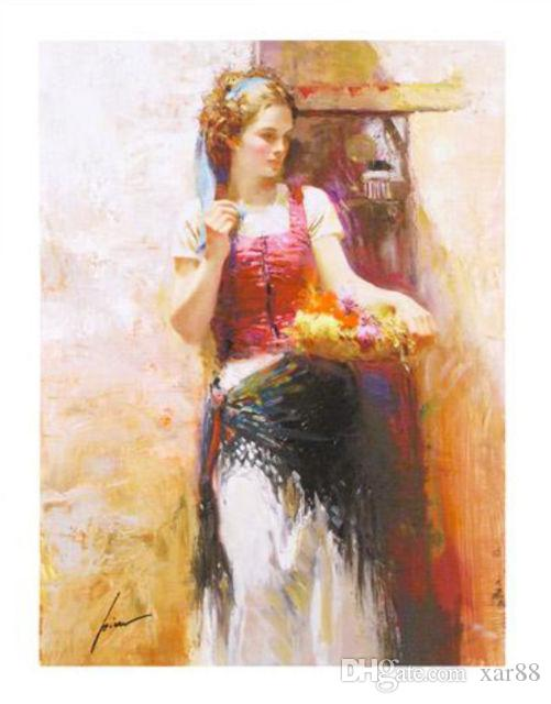 """Framed Free Shipping ,Wholesale Lots,""""PINO DAENI """"Hand painted famous Impressionism Art Oil Painting On High Quality Canvas,Multi sizes,F20#"""