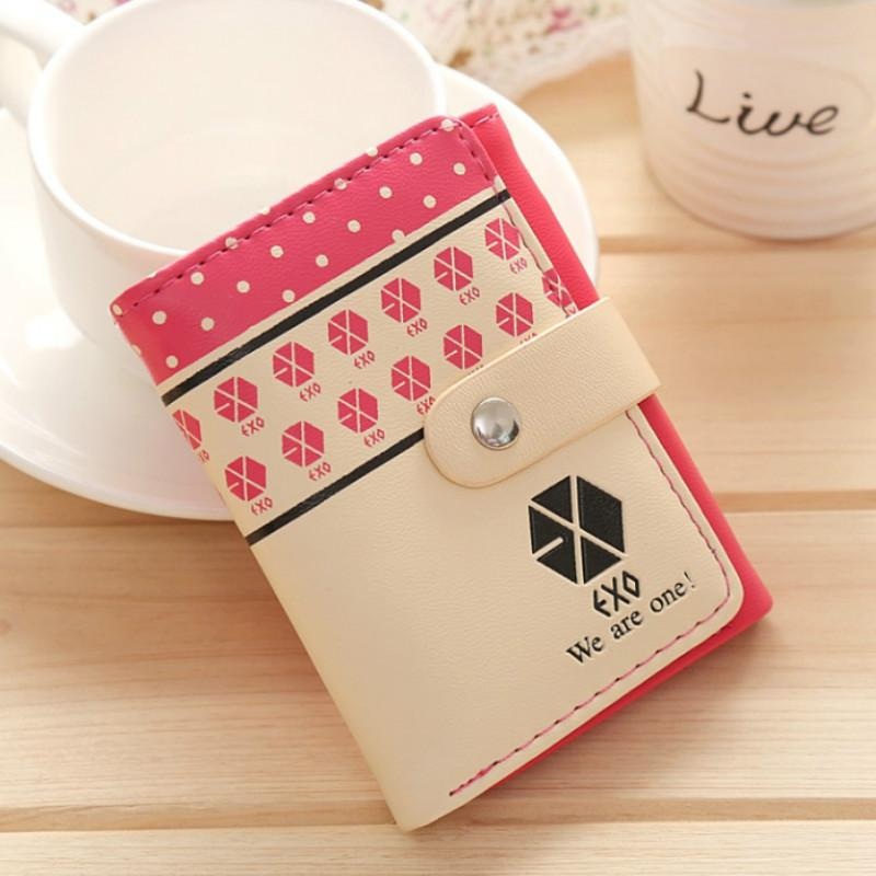 Female Korea Cute Mini Wallet Women Designer Creative Short 3 Fold Purse Women's Fashion Card Hold Pocket Clutch