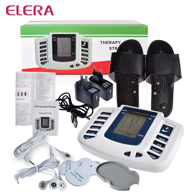 Commercio all'ingrosso elettrico stimolatore muscolare corpo relax dimagrante massaggiatore massaggio impulso decine macchina di terapia di agopuntura