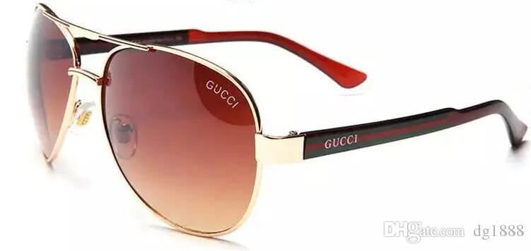 2018 Marca Designer Mulheres Rodada Óculos De Sol Dos Homens Da Moda Do Vintage Armação De Metal Oceano Óculos De Sol Sombra Rosa Tinted Eyewear UV400