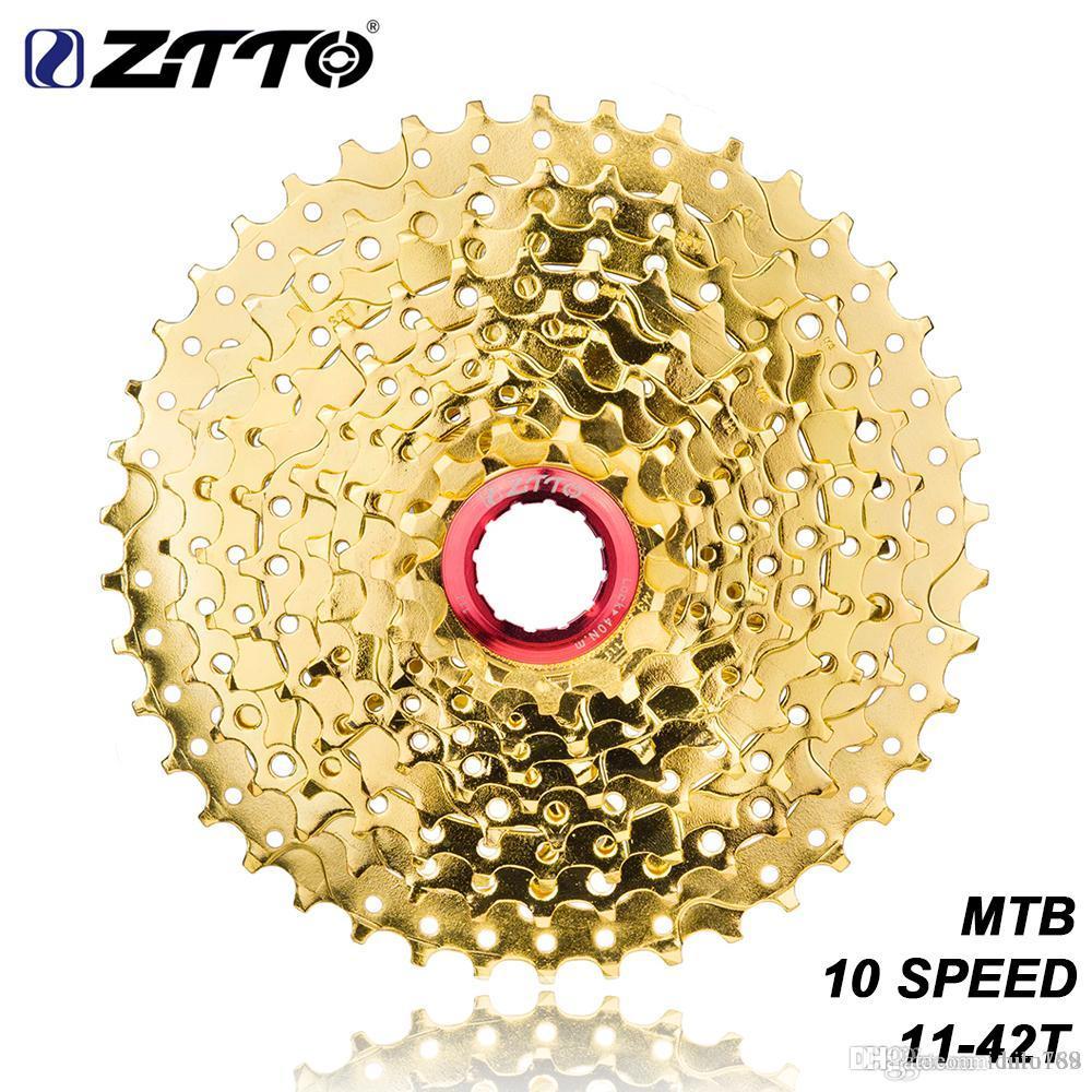 10 Speed Cassette 11-42T Wide Ratio MTB Bike Cassette Sprockets Bike Freewheels