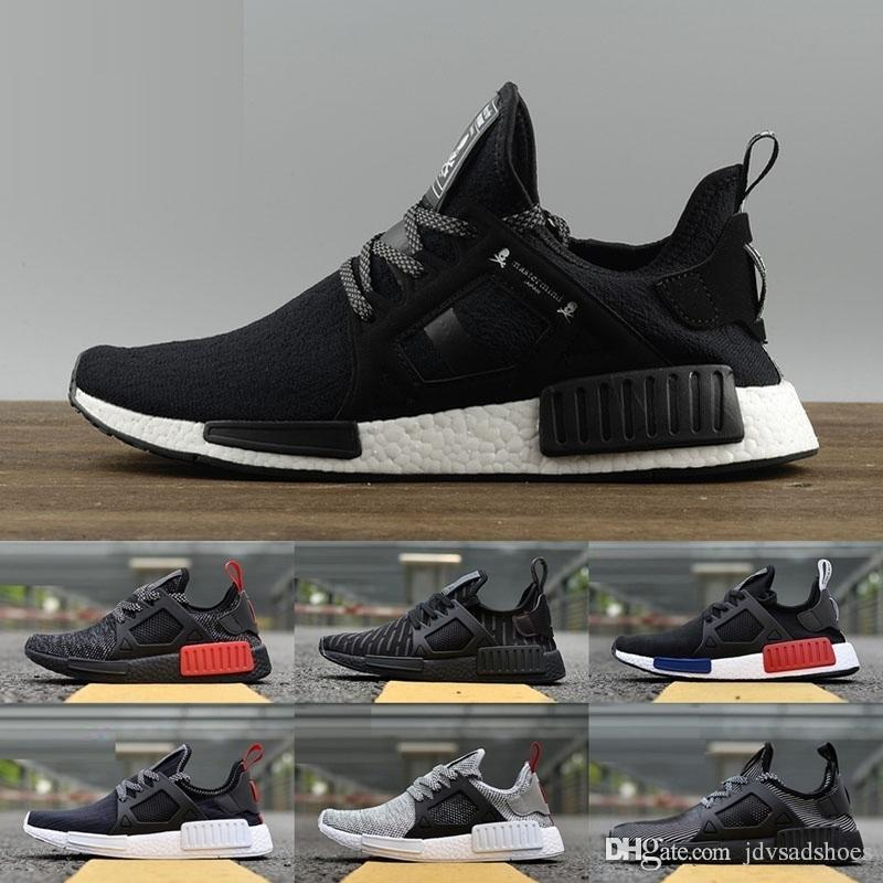 the latest 6f102 161b0 NMD XR1 Boost Runner PK Mastermind Japan Triple Black White Blue Duck Camo  Pack Olive Mens Women Sports Running Shoes Sneakers Eur 36 45 Office Shoes  ...