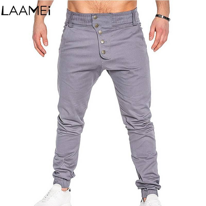 Großhandels208 neue Hosen für Männer dünne Männer Normallack-Hosen-Männer Jogger-Hosen, die beiläufige Hosen Streetwear nähen
