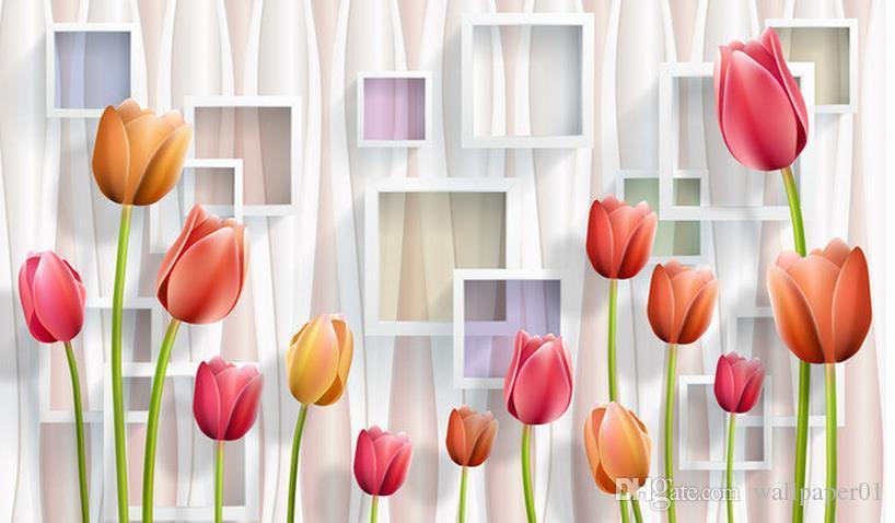 Custom 3d Mural Wallpaper Simple Three Dimensional Flower 3d Tv Background Wall Painting Wallpaper Tv Backdrop Bedroom Photo Wall Paper 3d Hd Wallpaper Hd Wallpaper Hd Wallpaper Hd Wallpaper I From Wallpaper01