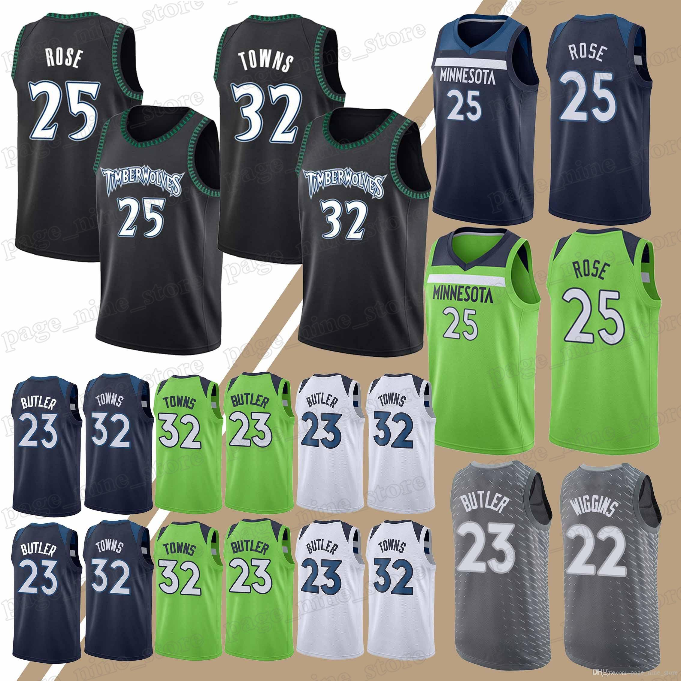 reputable site fc320 d4f21 2018 Minnesota Timberwolves Jerseys 32 Karl Anthony Towns 23 Jimmy Butler  22 Andrew Wiggins Hot Sale Jersey Sportswear From Page_nine_store, &Price;  | ...