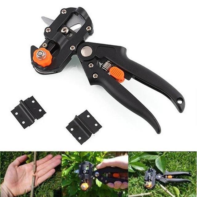 New Professional Garden Fruit Tree Pruning Shears Scissor Plant Grafting Tool With 2 Blade Garden Tools Set Pruner Cutting Tool VB