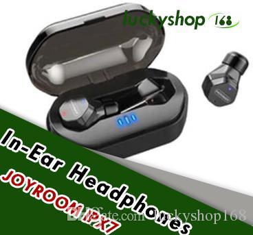 Joyroom ipx7 fones de ouvido à prova d 'água do bluetooth jm-e3 tws mini fone de ouvido sem fio controle de toque de alta fidelidade sem fio fones de ouvido fone de ouvido para iphone samsung