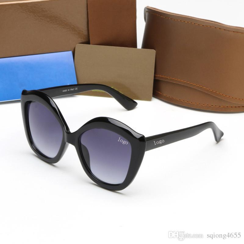 2018 Occhiali da sole di moda del progettista di marca di alta qualità con LOGO G0117 per occhiali da sole di marca donne uomini telaio libero