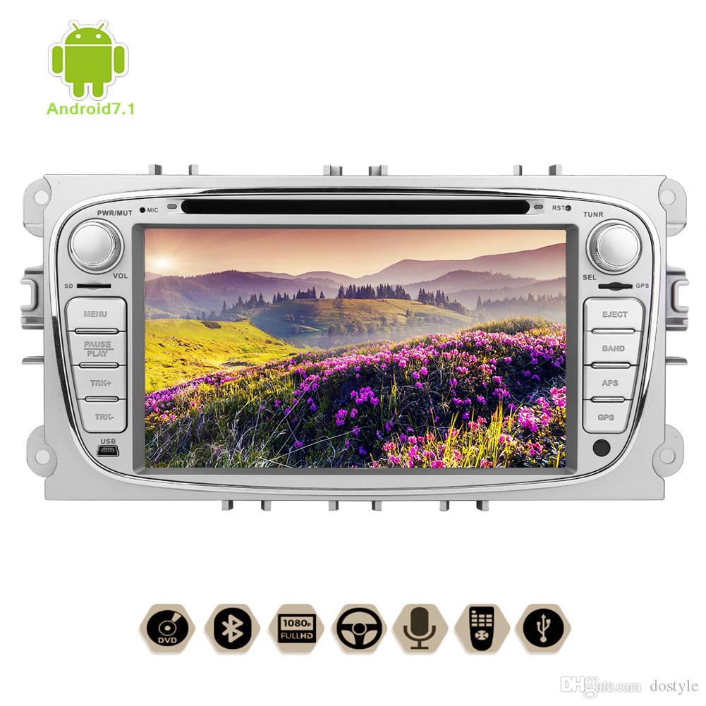 7'' Android 7.1 Octa-Core Car Stereo car DVD CD Player 1080P Video in Dash GPS Navigation Wifi 3G/4G for Ford Focus