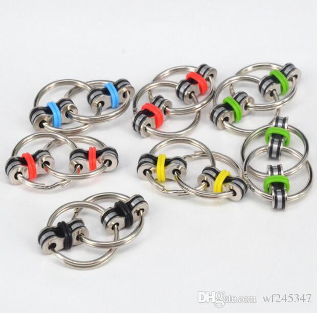 50% de réduction Vent chaîne de décompression de jouets porte-clés Main Fidget décompression jouet porte-clés chaîne déduction Relax Toys