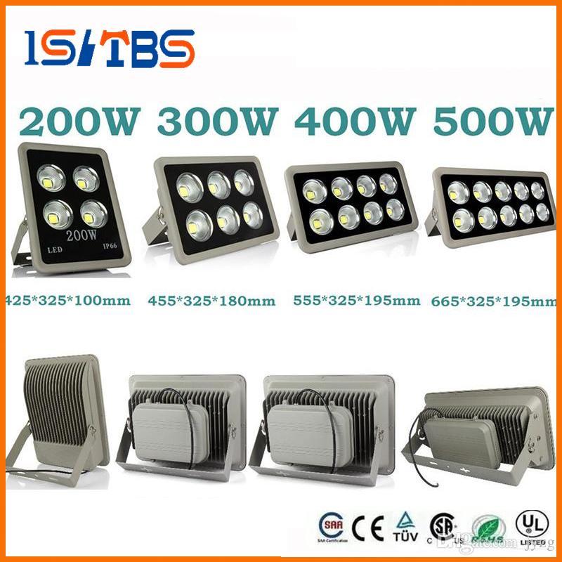 Led Flutlicht 85-265V 200W 300W 400W 500W LED Outdoor COB LED Flutlicht Lampe wasserdicht Tunnel Lichter Straßenbeleuchtung