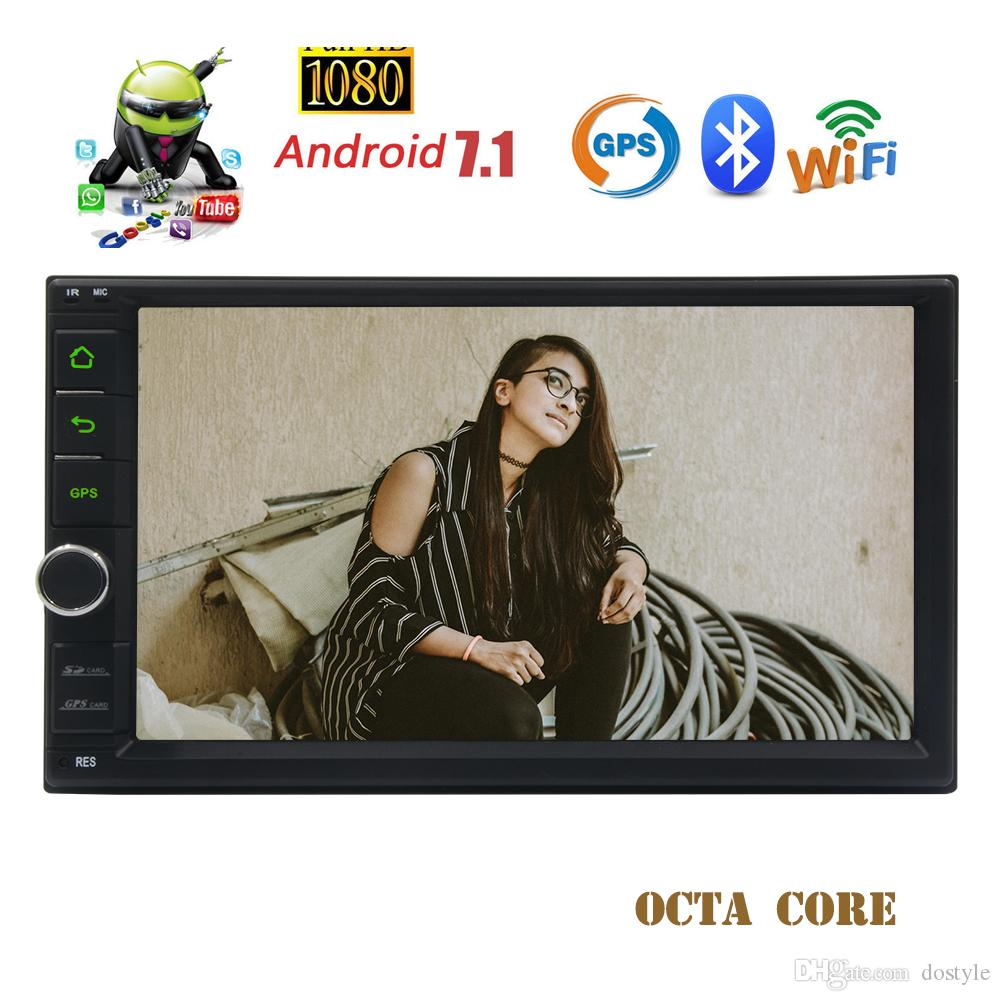 Eincar Octa Core Android 7.1 System car Stereo 7''Touchscreen 2G RAM GPS Navigation Bluetooth Radio Receiver FM AM RDS Radio USB/SD