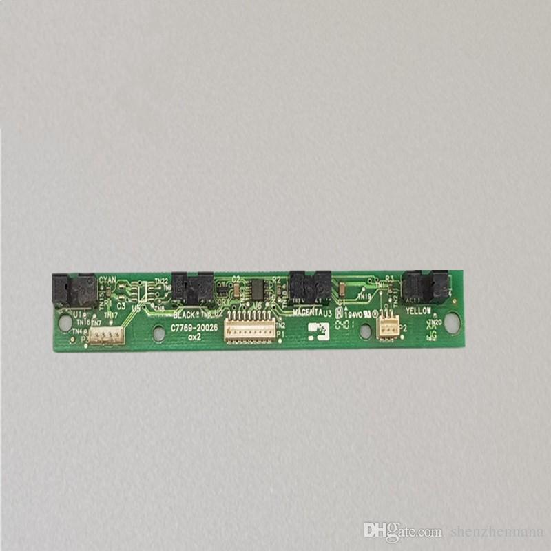 Доска C7769-60026 C7769-60373 подачи чернил станции (МКС) для HP для DJ 500 510 800 815 820 C7769-60148 CH336-67010 оригинальные б