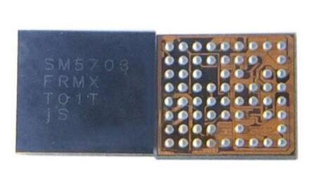 50pcs / lot SM5703 IC para A8 A8000 J500F carregamento de carregamento USB carregador IC