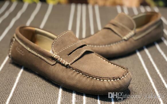 2018 새로운 남성 게으른 신발 여름 캐주얼 낮은 클래식 편안한 신발 신발, 한 발 페달 빈 커버 menundefineds 부츠 직기