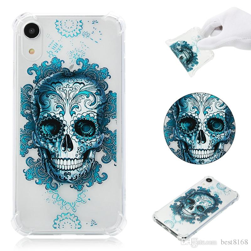 iphone xr skull case