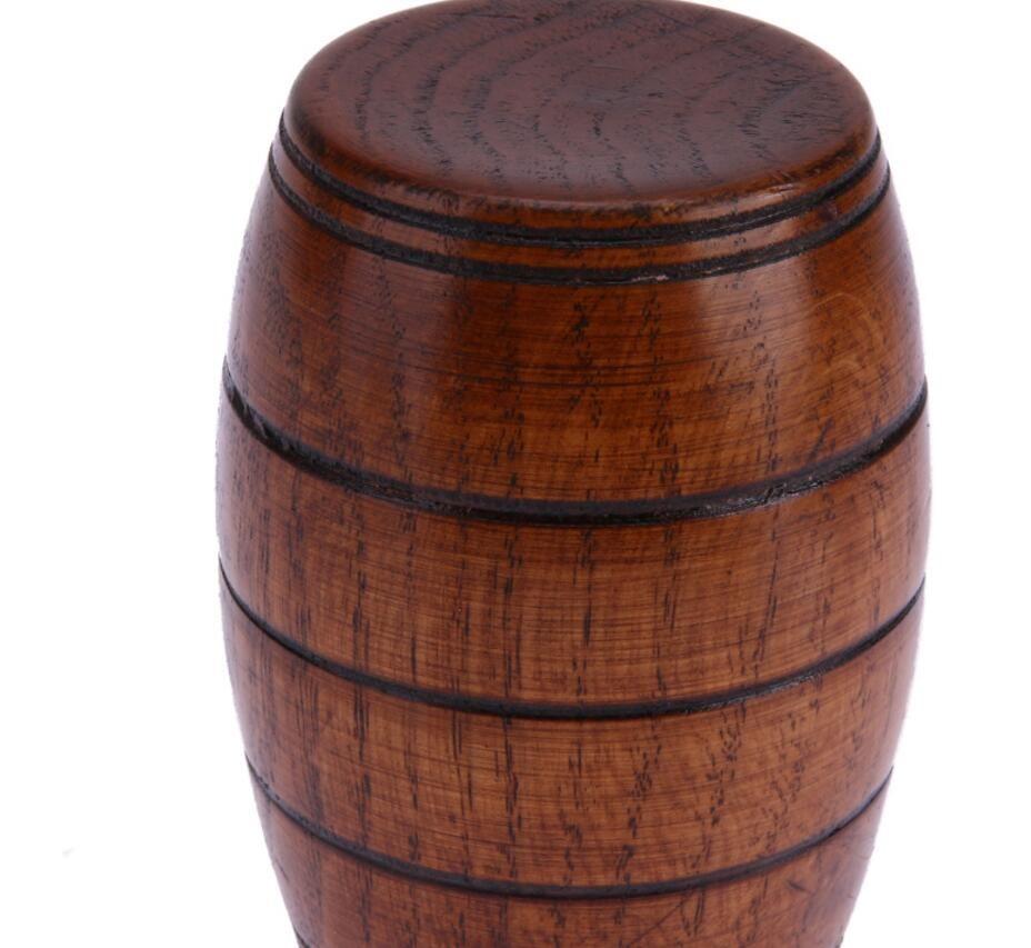50 sztuk / partia Drewniane Piwo Piwo Drewno Rzeźbione Klasyczna Herbata Kubek Ekologiczne Wytwórne Kuchnia Kuchnia Akcesoria