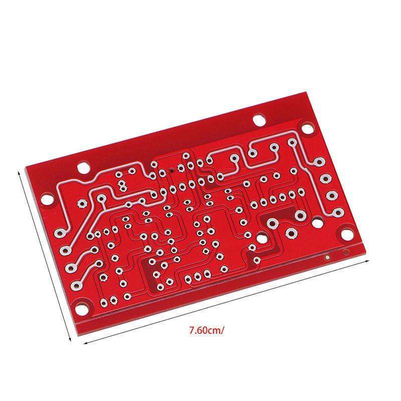 Lergo/_FR TDA7377 Amplificateur De Puissance 2.1 Kit De Bricolage 3 Canaux Son Audio Carte AMP 12-18V DC