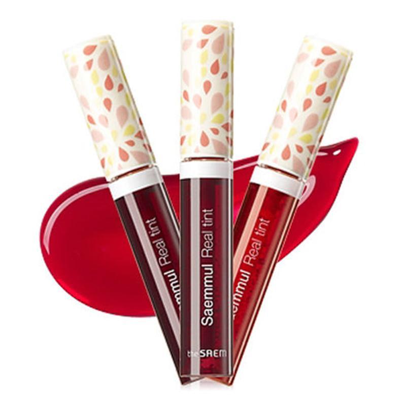 L'SAEM Saemmul réel Tint 9.6ml Lèvres Maquillage Nudité Rouge à lèvres imperméable Long Lasting Lip Gloss Cosmétiques Corée