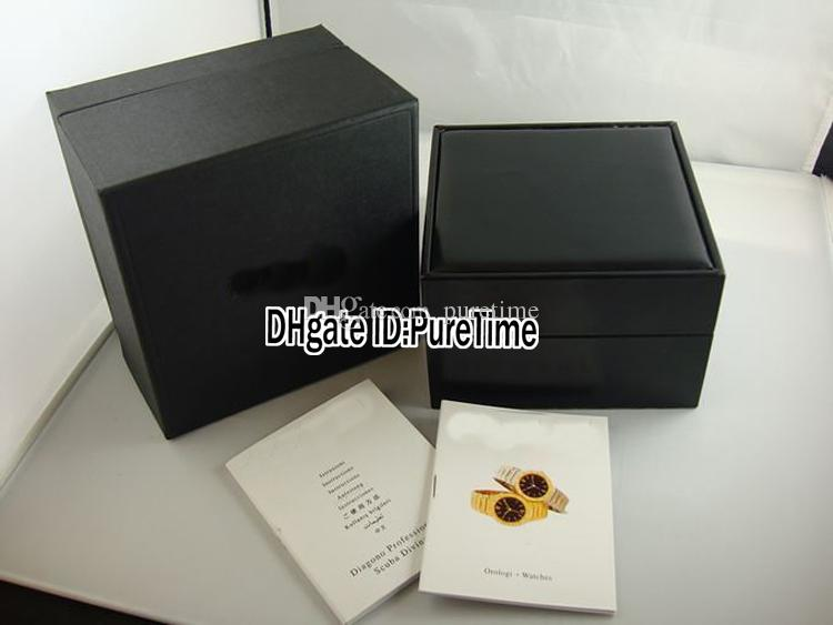 Hight Puretime BVL New Octo Watch Guarda in pelle orologio in pelle all'ingrosso Black Box Box Box con borse Carta regalo Certificato originale Qualità BMFNQ