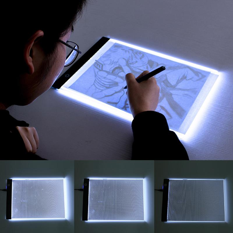 2019 Comic Drawing Artifact Thin Led Light Table Plug Dimmable Glowing LED  Copy Board Kids Excise Painting Imitate Novelty Lamp From Amosty, \u0026Price;