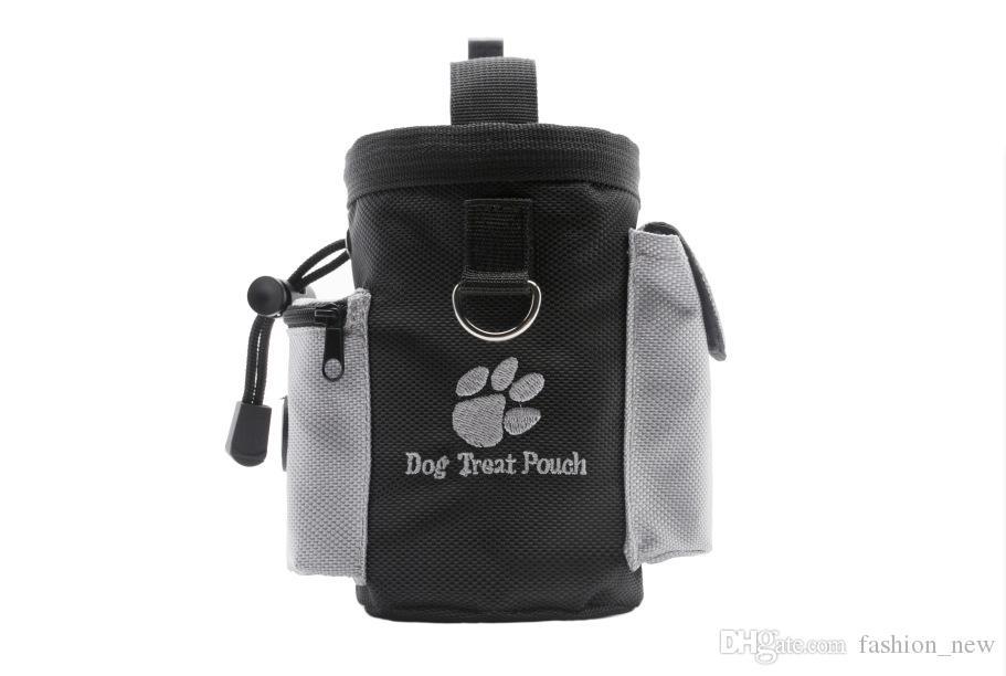 لطيف كلب علاج الحقيبة الكلب التدريب عالج أكياس المحمولة انفصال الكلب تغذية جيب الحقيبة جرو سناك مكافأة الخصر حقيبة بالجملة
