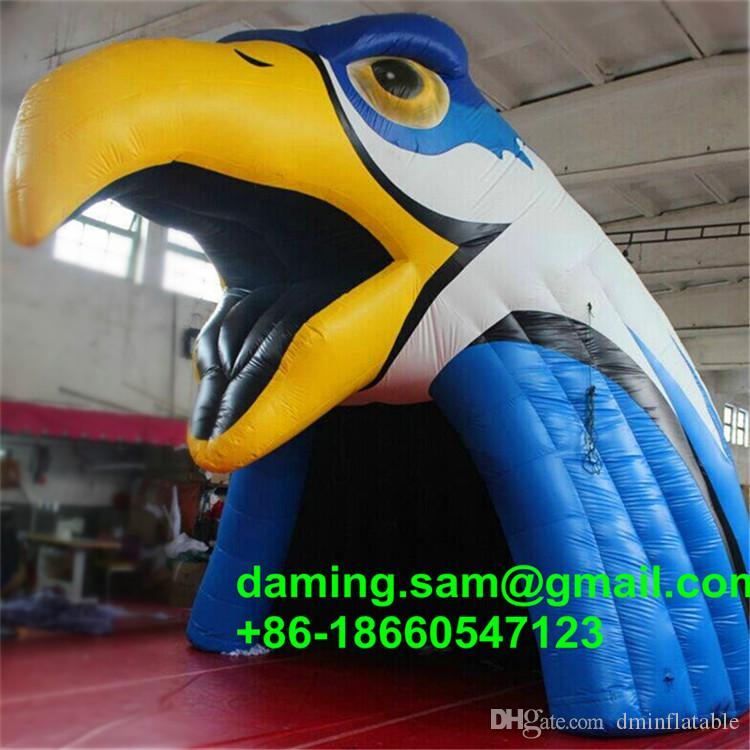 Advertising decoration Can be customized eagle model giant inflatable tent