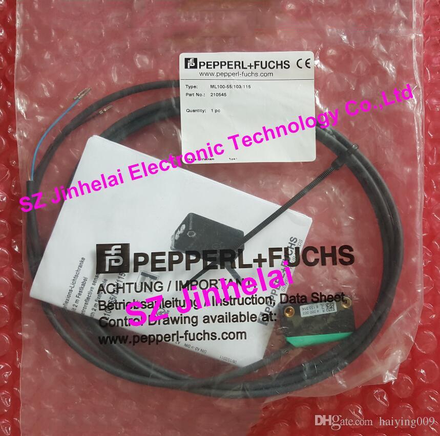 Pepperl + Fuchs ML100-55 / 103/115 Nowy i oryginalny rozkład fotoelektryczny czujnik
