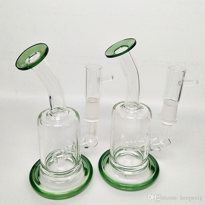 Dab буровой установки стекла Бонг водопроводные трубы кварцевые banger чаша бонги пьянящий мини трубы воск буровые установки небольшой барботер кальяны стакан