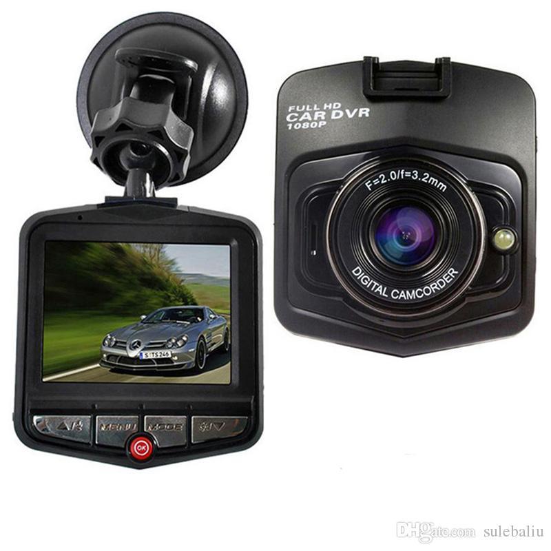 Mini Car DVR Camera Dashcam Full HD 1080P Registratore Video Registratore di visione notturna Carcam LCD Screen Driving Dash Camera
