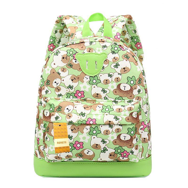 Bande dessinée ours Enfants Sacs de bébé école sac à dos pour enfant fille sac d'école pour la maternelle mignon enfants sac à dos mochila