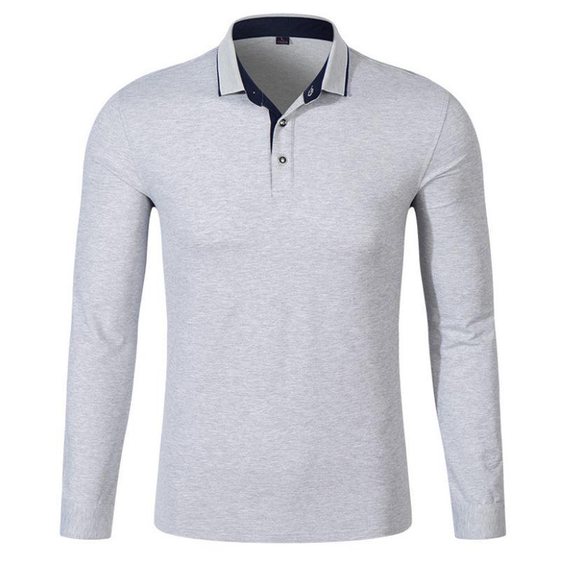 2017 Men Polo Hombre Shirt Mens Fashion Collar shirts Long Sleeve Casual Camisetas Masculinas Plus Size S-XXXL Polos Sweatshirt