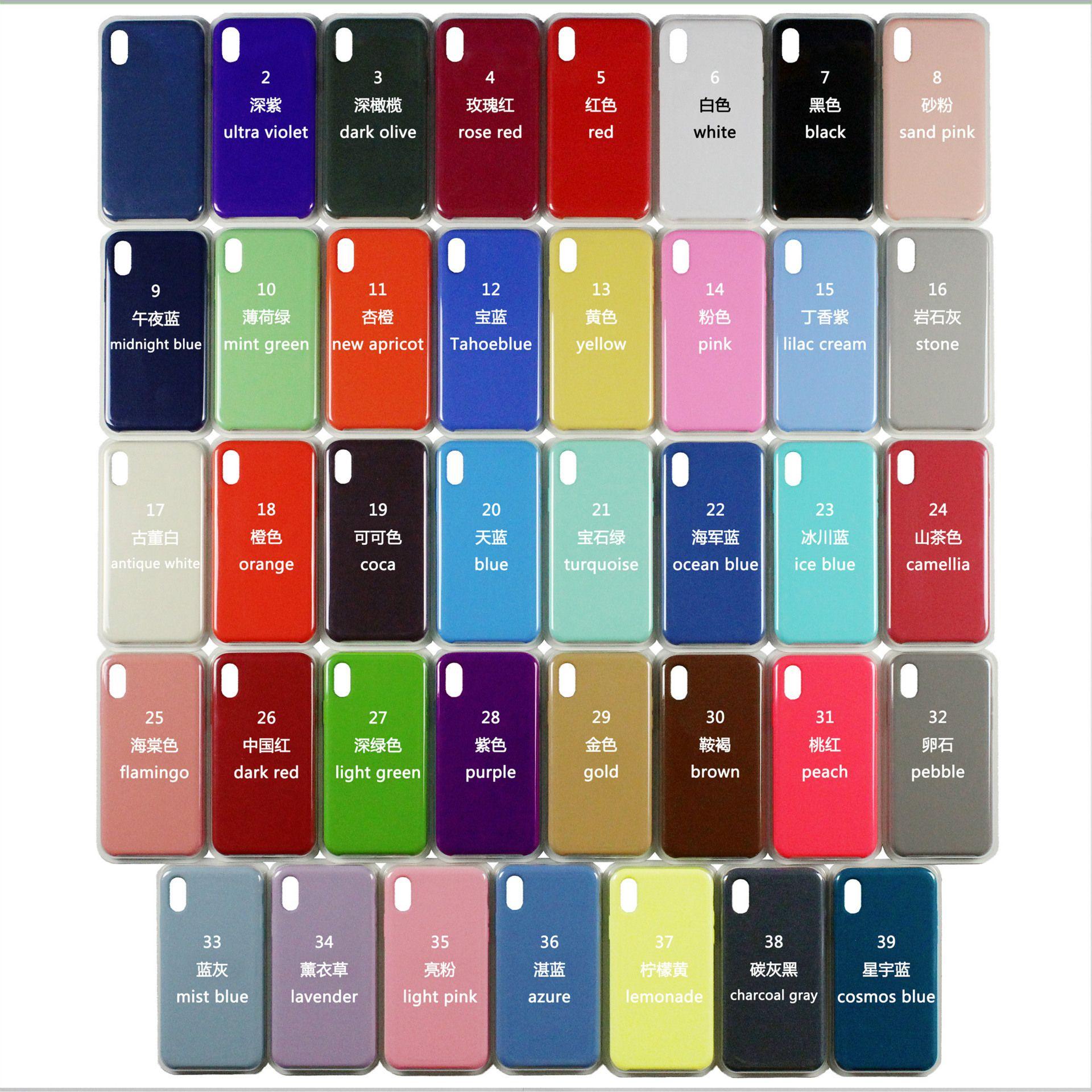 Custodia In Silicone Liquido IPhone 7 8 Plus Cover Rigida IPhone 6 6S Con Scatola IPhone X Cover Da Shangbrand, 2,16 € | It.Dhgate.Com