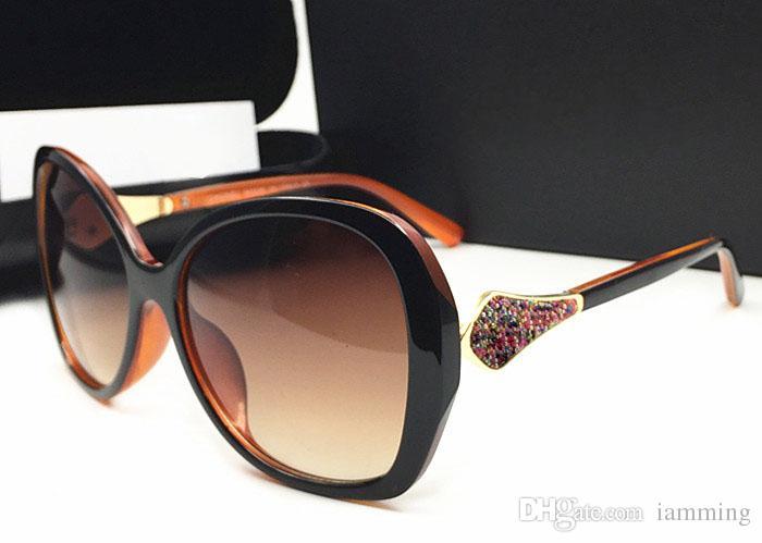 Yüksek kalite Marka Tasarımcısı Moda Erkek Kadın Güneş Gözlüğü UV400 Spor Vintage Güneş gözlükleri Retro Gözlük kutusu Ile