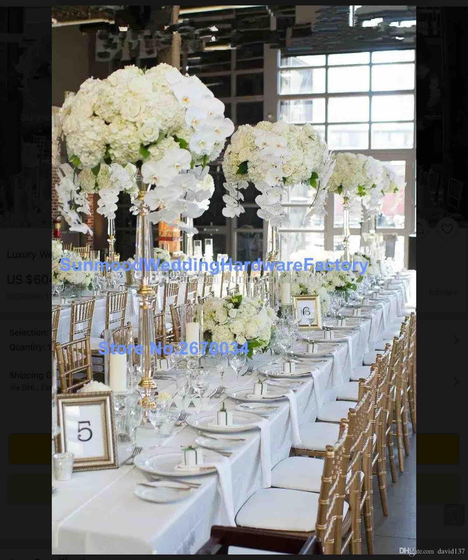 Latest Clear Acrylic Table For Wedding Stands Acrylic Wedding Table Decoration Theme Party Decoration Theme Party Decorations From David137 396 99