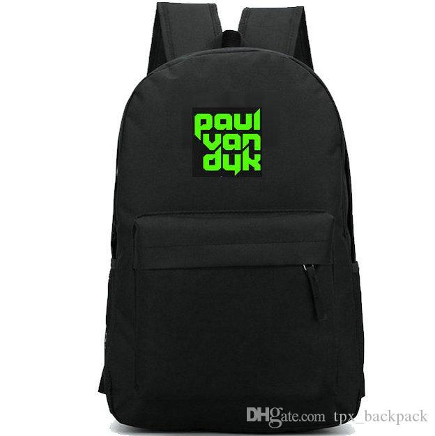 بول فان دايك daypack ماتياس نشوة الموسيقى اليوم حزمة أعلى 100 dj حقيبة مدرسية packsack جيد حقيبة الظهر الرياضة المدرسية في الهواء الطلق