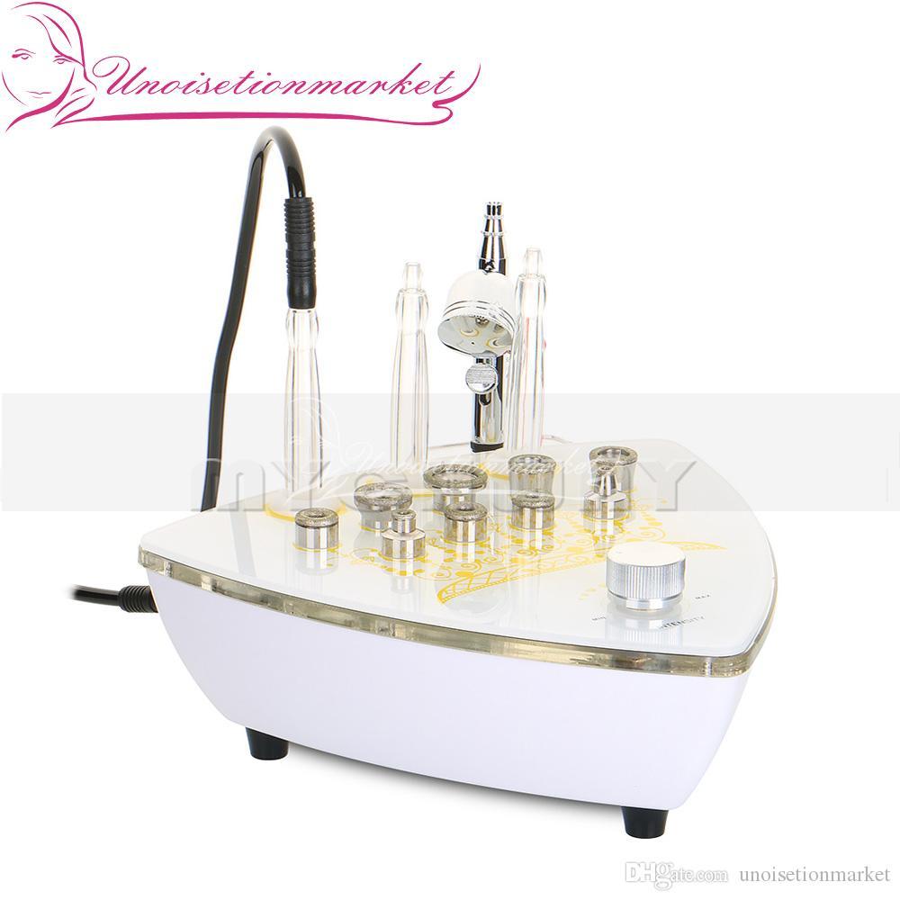 3 W 1 Diamentowe Mikrodermabrazja Skin Odmłodzenia Maszyna do usuwania Acne Baskode do użytku domowego