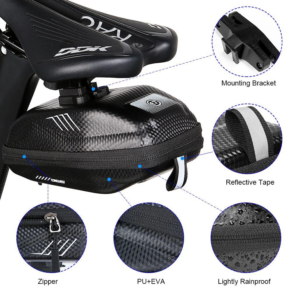 Borsa da mountain bike borsa da equitazione borsa da corsa bici da strada hard shell sella car chart borsa posteriore equipaggiamento per equitazione