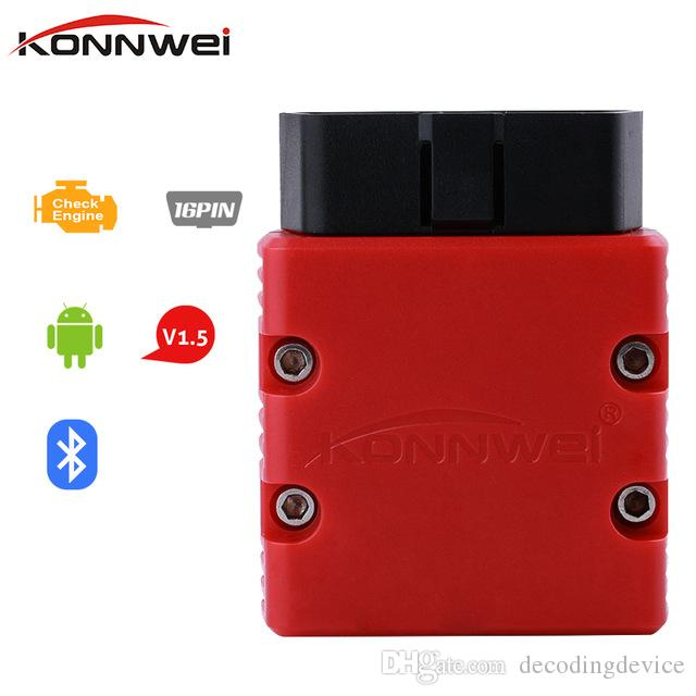 Konnwei KW902 ELM327 OBD2 EML327 V1.5 Bluetooth 3.0 Wifi Adapter Auto Diagnostic Scanner for Android/PC OBDII Automotive Scanner