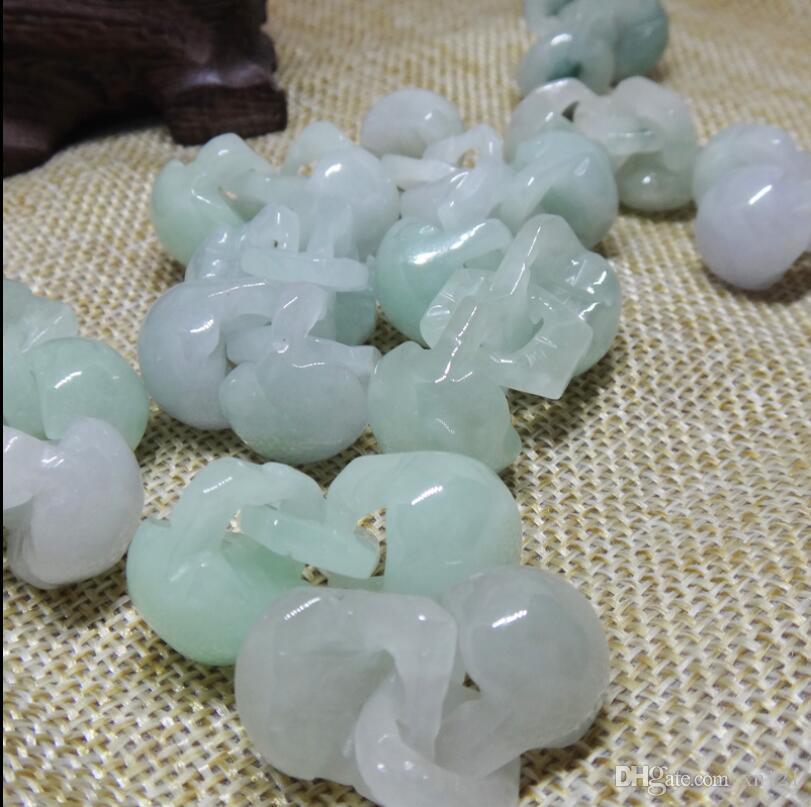 Accessori fai da te fatti a mano Jade Bashan piccola serratura fai da te materiale gioielli pacchetto parti genuine tipo di ghiaccio anche blocco del cuore