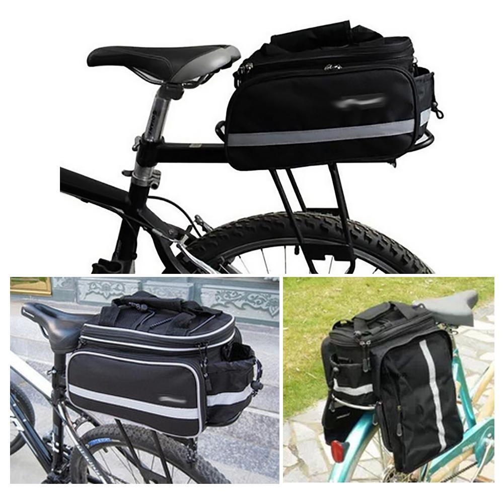 Большая Емкость Горный Велосипед Велосипед Bicicleta Сумка Задний Перевозчик Сумки Задний Пакет Багажник Паньер